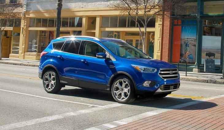 Ford Escape Suvs Crossovers