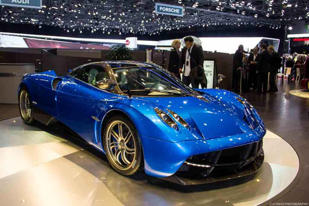 2013 Pagani Huayra – What it has to Offer