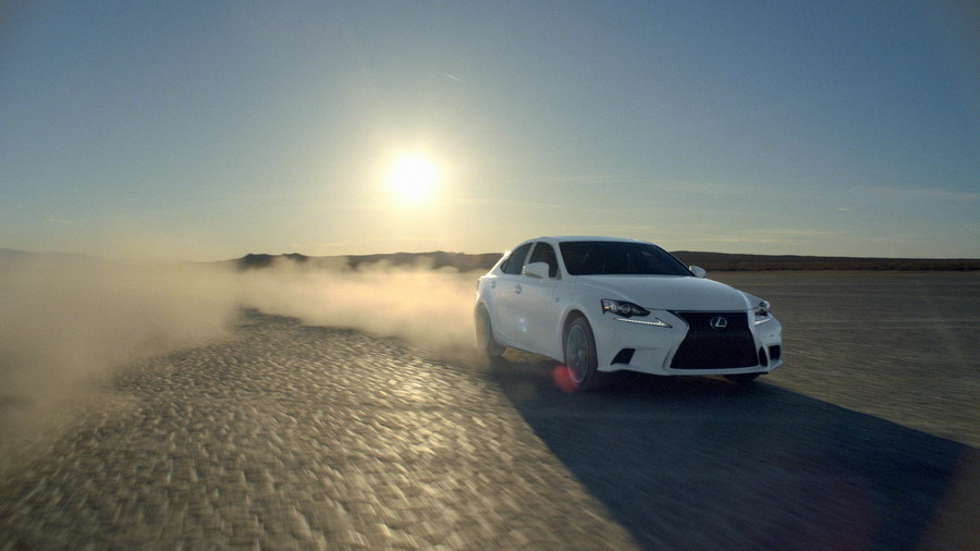 Lexus Launches Third Generation 2014 IS Sport Sedan