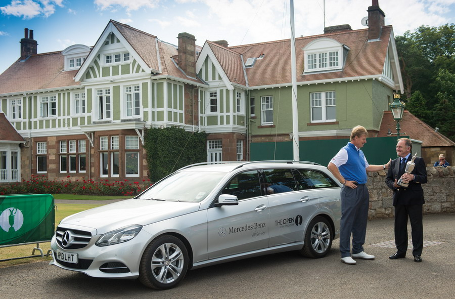 Mercedes Benz to Support The Open Championship for Third Consecutive Year