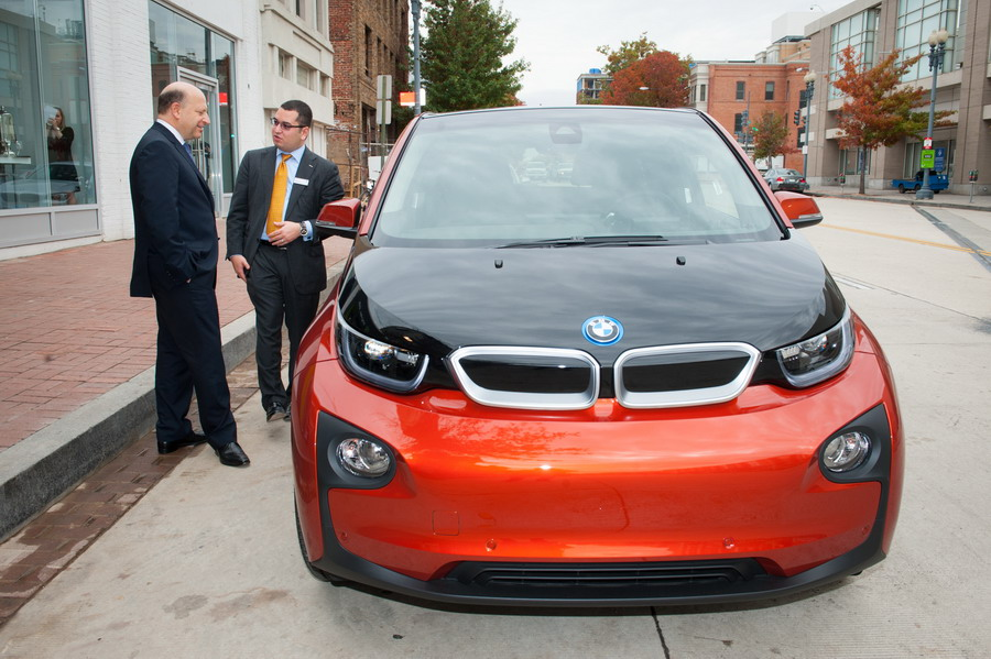 BMW hosted a Special event as recognition of BMW Group's commitment to sustainable mobility