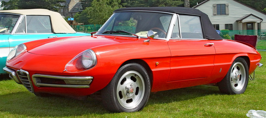 1968 Alfa Romeo Series 1 Spider