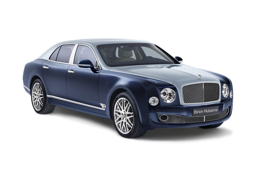 Bentley Reveals Birkin Mulsanne for European Customers