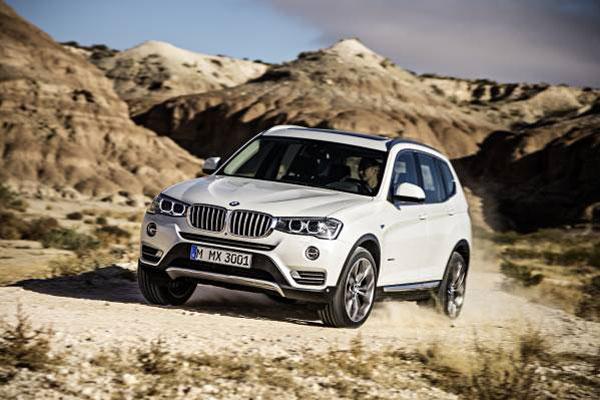 BMW Introduces 2015 X3 SAV in Diesel Version