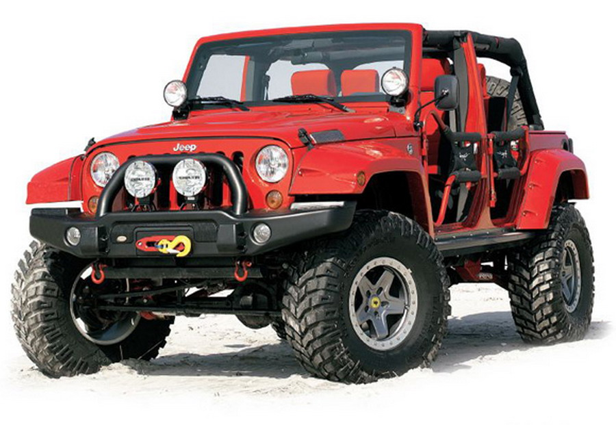 Super Summer Accessories for your Jeep
