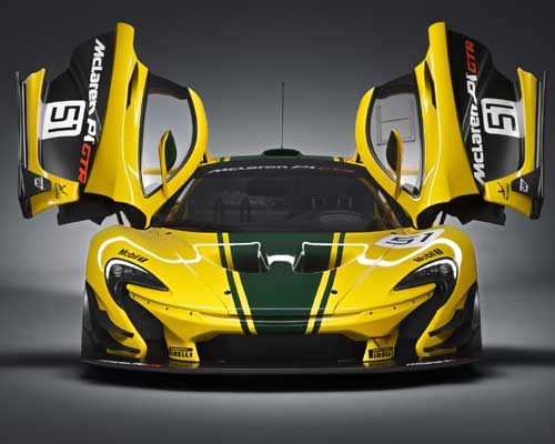 Mclaren P1 GTR For The New Ultimate Series Unleashed