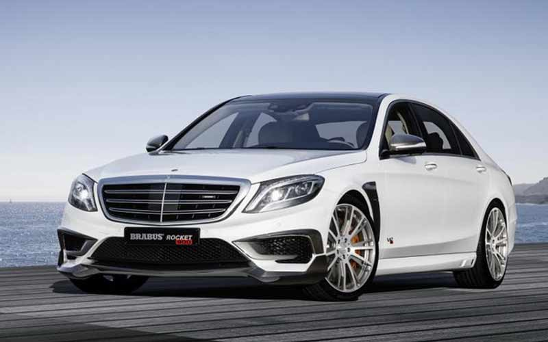 The Brabus' Mercedes-Benz is a Certified Beast