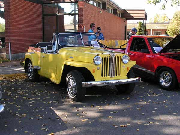 The Willy's Jeepster – the Post-War Jeep