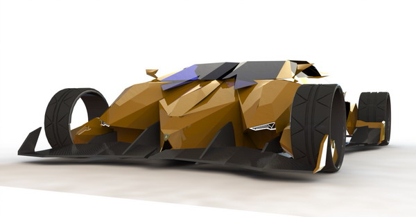 2050 Lamborghini Toro Exotic Supercar