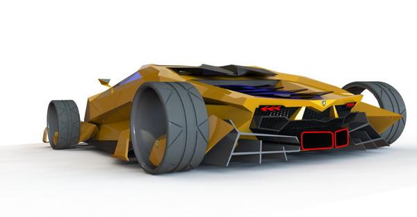 2050 Lamborghini Toro Exotic