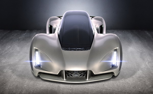 Blade Supercars – The World's First 3-D Printed Supercar