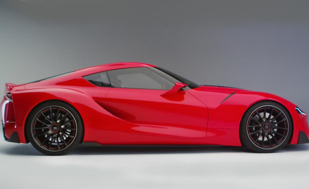 2018 Toyota Sports Car FT 1