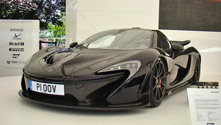 McLaren P1 – Specification