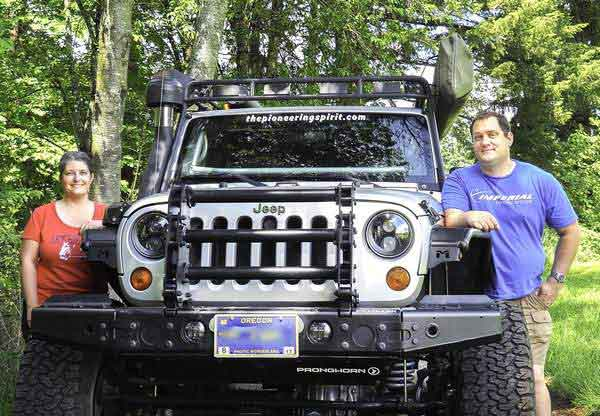 Couple Plans to Test Their Jeep & Curiosity as They Trek Across Africa
