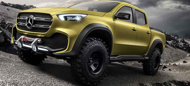 2018 Mercedes-Benz X-Class Arriving in Australia Early Next Year
