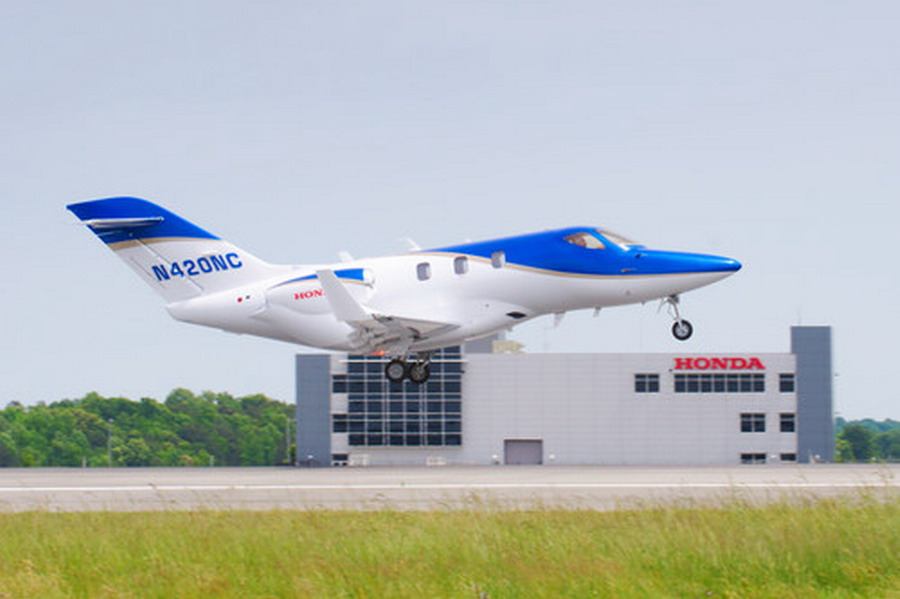 HAC Announces Fifth Conforming HondaJet's First Flight Results
