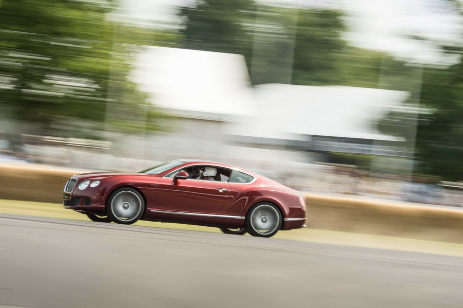 Bentley Debuts Continental GT3 at 2013 Goodwood Festival of Speed