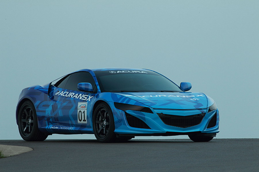 NSX Prototype Demonstrates Superior Performance at Honda Indy 200