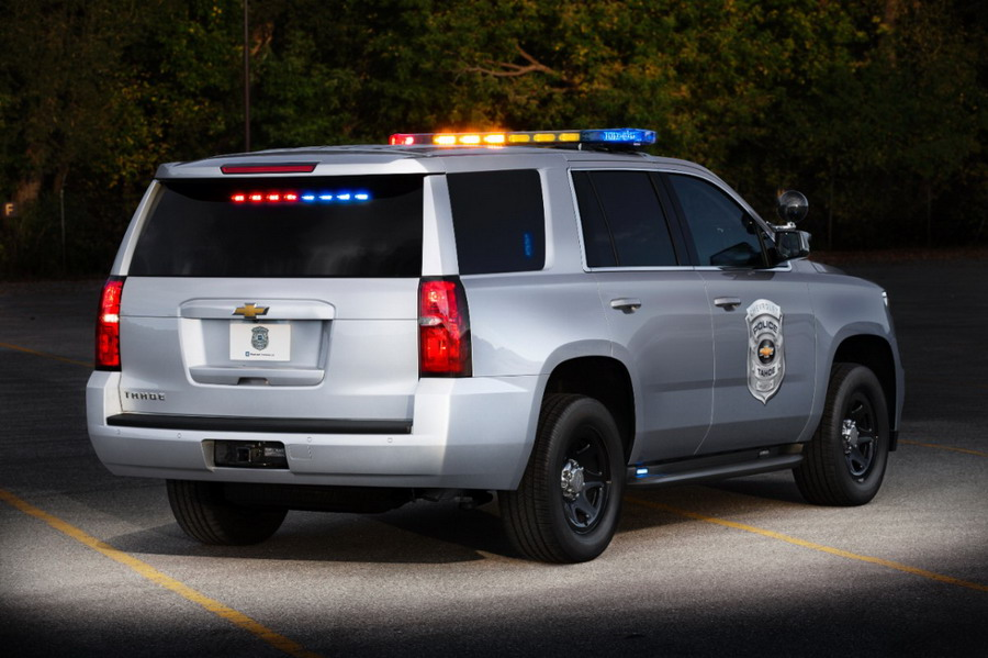 Chevrolet Announces 2015 Tahoe for Law Enforcement