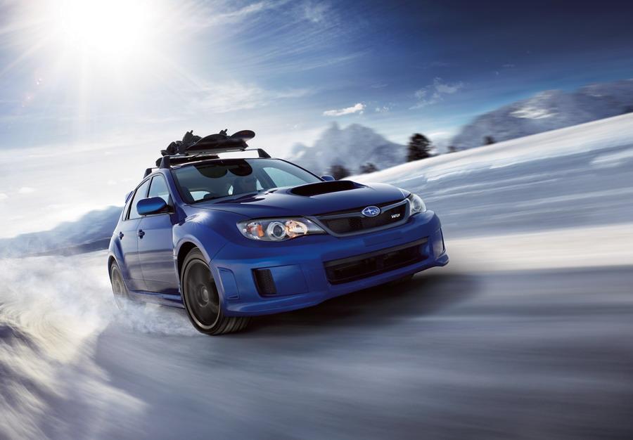 2015 Subaru WRX STI for the North America