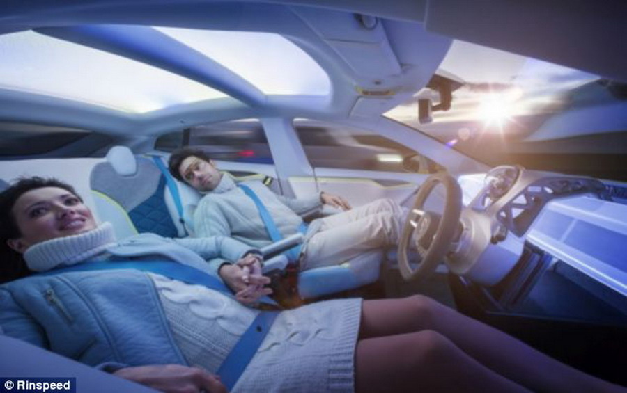 Tesla's Driverless Concept: Your Vehicle Your Lounge