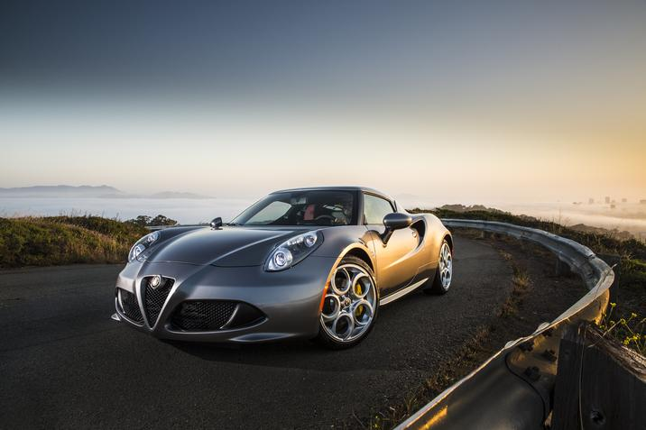 2015 Alfa Romeo 4C Wins Automobile All-Star Award