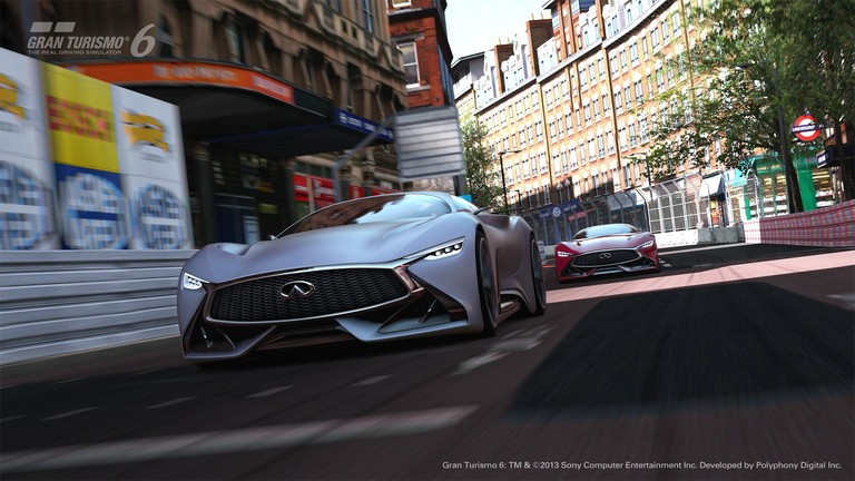 Infiniti Launches the Concept Vehicle for Gran Turismo 6