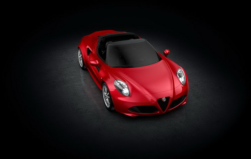 All-New 2015 Alfa Romeo 4C Spider