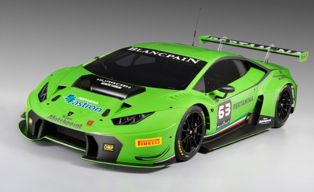 Lamborghini Unveils Huracan GT3 Race Car for Blancpain Endurance Series