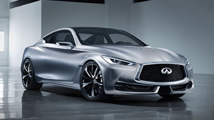Infiniti Reveals its Q60 Coupe Concept Before Detroit Auto Show