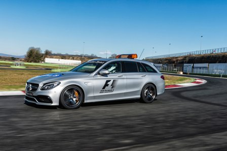 503-Horsepower Mercedes-AMG GT S is the New Formula One Safety Car