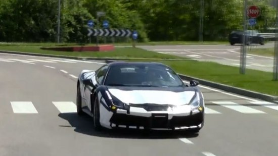 The Ferrari 488 GTS Has Been Spotted and it is Remarkable