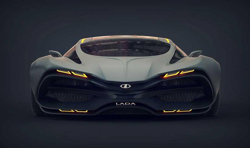 Lada Raven – Supercar