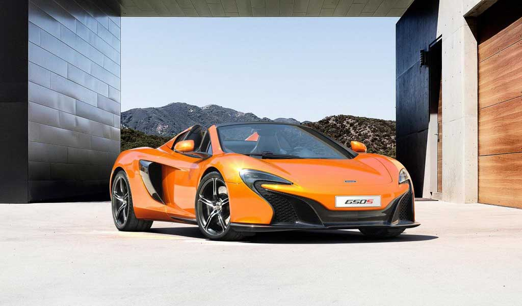 World's Most Versatile Supercar – McLaren 650S Spider