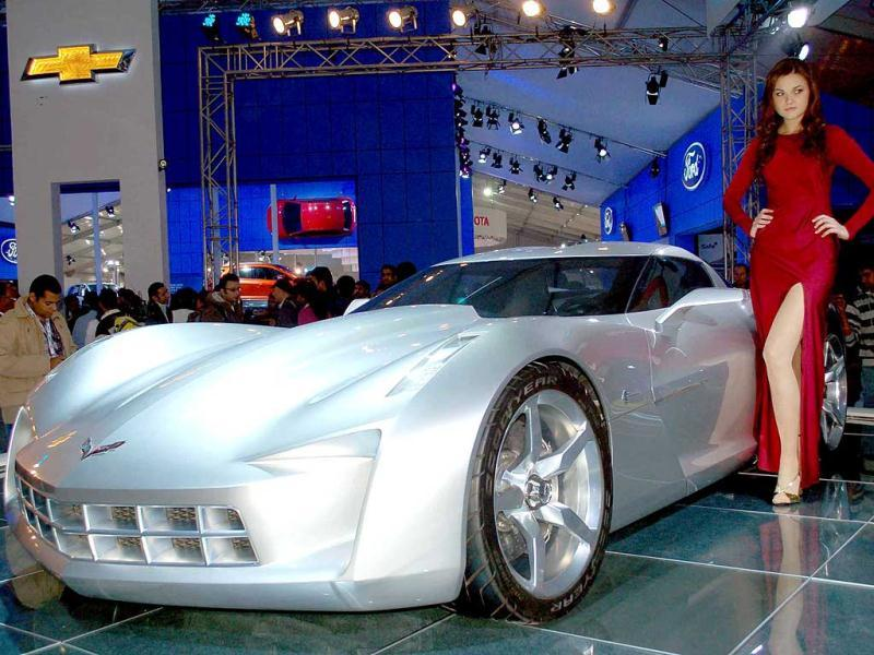 Chevrolet Corvette Stingray Concept Car – 2011