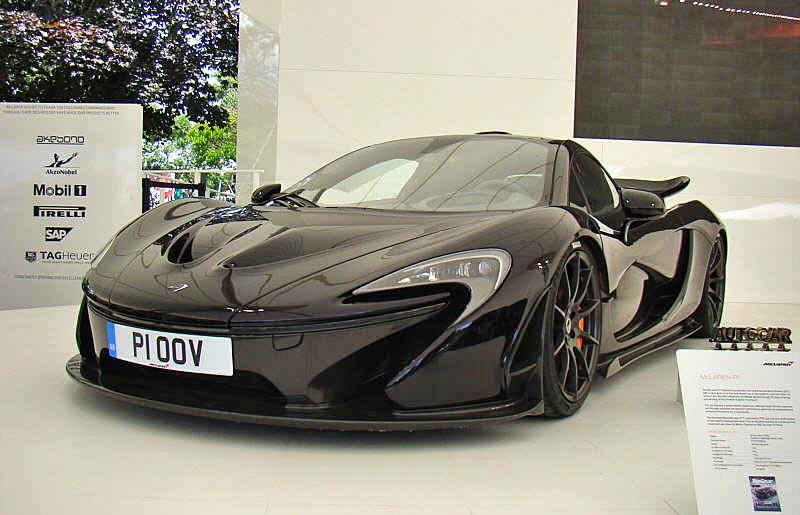 McLaren P1 – Specification