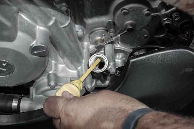 Replace engine oil regularly