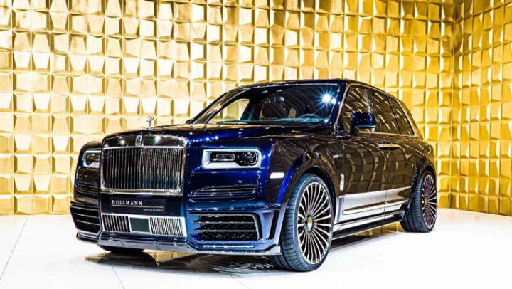 2020 Rolls Royce Cullinan by Mansory