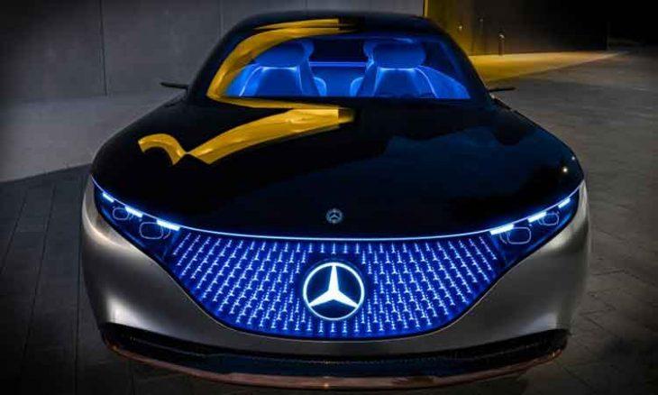 Mercedes-AMG EQS DIGITAL LIGHT