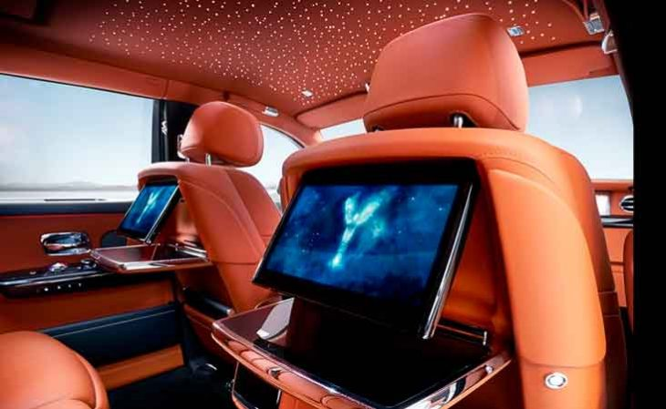 Interior-of the Rolls Royce